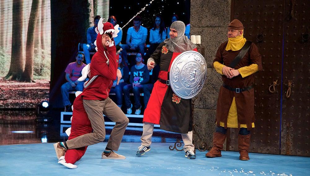 Mago de Off: Lanceflot y el dragón