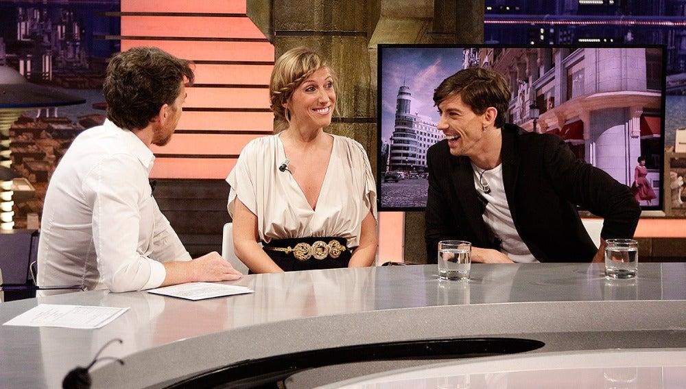 Cecilia Freire y Adrián Lastra en El Hormiguero 3.0