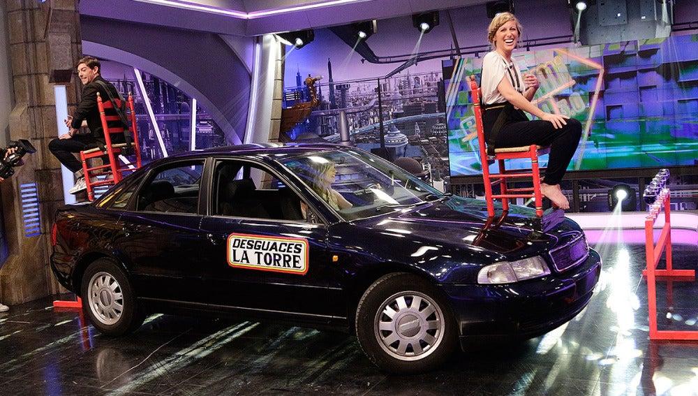 Anna Simon y su nuevo sistema para aparcar coches