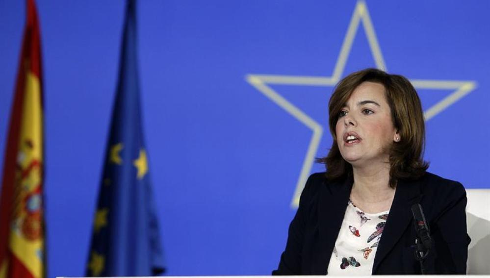 Santamaría da los resultados de las elecciones europeas