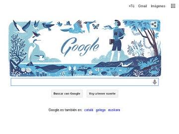 Doodle de Google en honor a Rachel Louise Carson