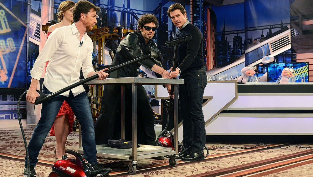 El Hombre de Negro con Emily Blunt y Tom Cruise en El Hormiguero 3.0