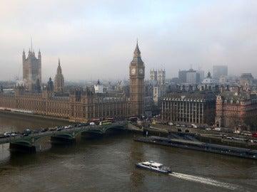 El palacio de Westminster, sede de la Cámara de los Comunes
