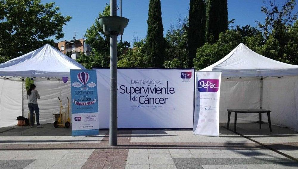 Evento en la Plaza Mayor de Alcobendas organizado por el GEPAC