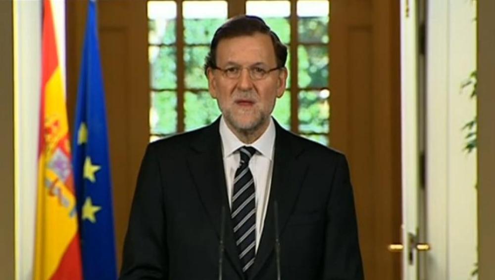 Mariano Rajoy anuncia la abdicación del Juan Carlos I