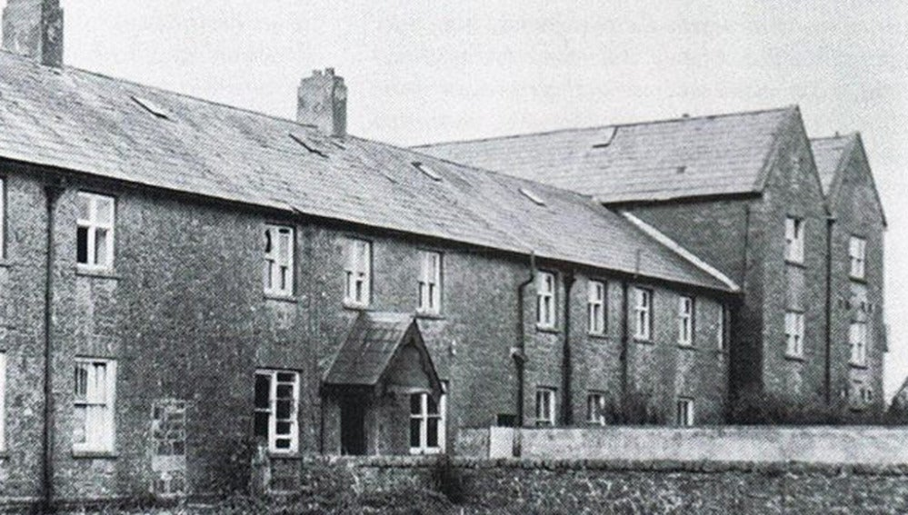 Exterior del St. Mary's Mother and Baby Home en Tuam