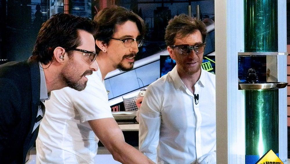 Marron Hugh Jackman y Pablo Motos en El Hormiguero 3.0