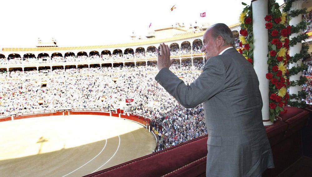 El Rey agradece el caluroso homenaje en Las Ventas