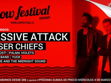 Massive Attack en el Low Festival