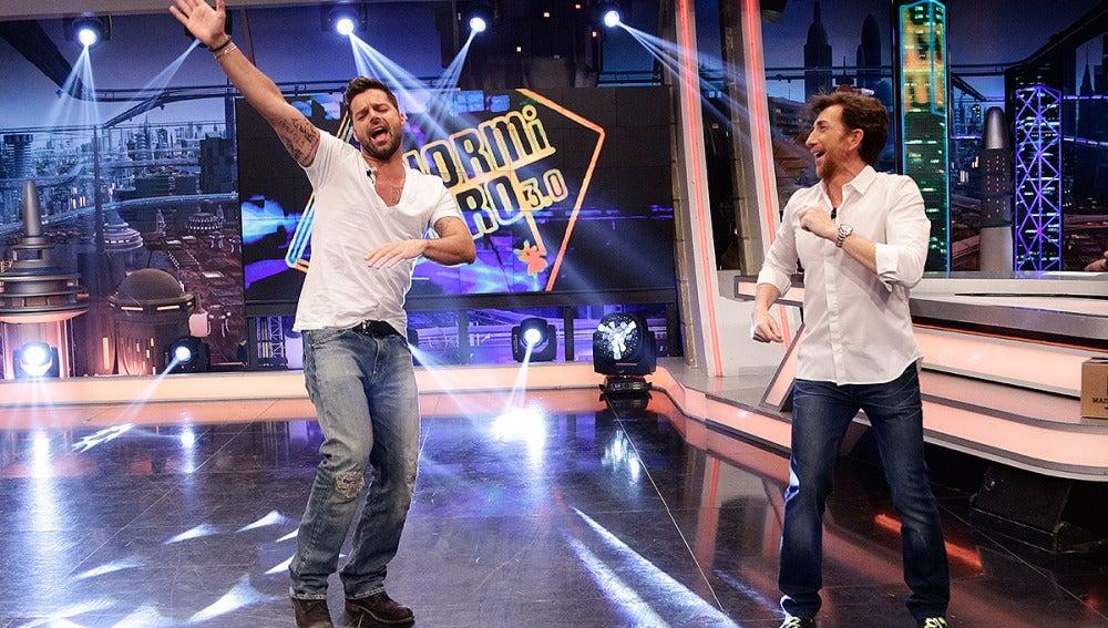 Ricky Martin en El Hormiguero 3.0