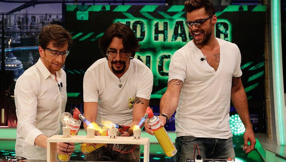 Pablo Motos, Marron y Ricky Martin en El Hormiguero 3.0