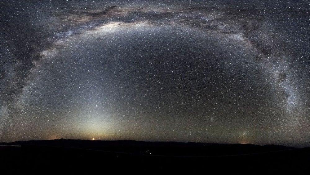 Imagen de un cielo nocturno