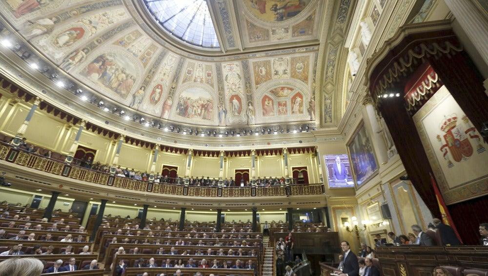 El Congreso aprueba la Ley de Abdicación del Rey