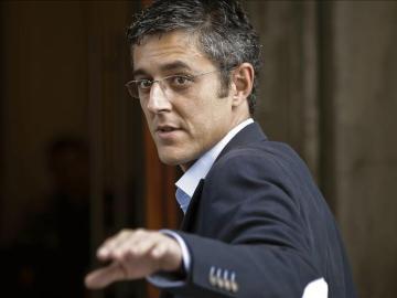 El aspirante a secretario general del PSOE Eduardo Madina