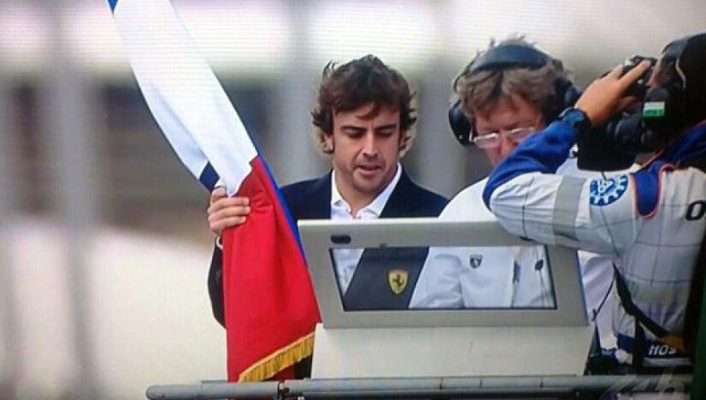 Alonso, dispuesto a dar la salida de Le Mans