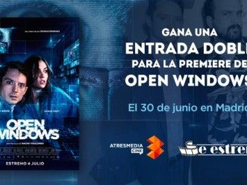 'Open Windows', el 4 de julio en cines