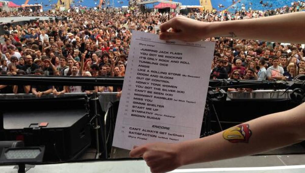 Setlist de los Rolling Stones
