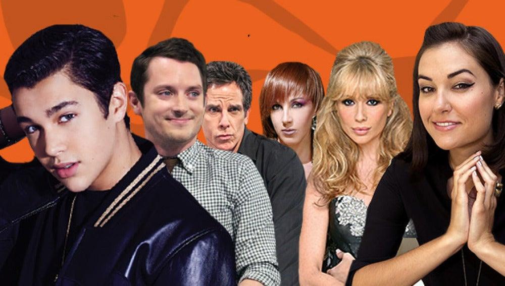 Austin Mahone, Elijah Wood, Sasha Grey, Ben Stiller, Marta Sánchez y Ana Torroja en El Hormiguero 3.0
