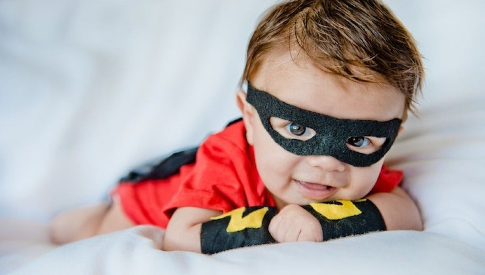 Wes Armon tiene un hijo superhéroe