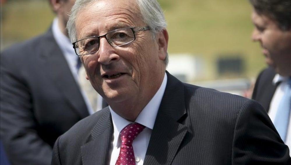 El candidato a la presidencia de la Comisión Europea (CE), el luxemburgués Jean-Claude Juncker.