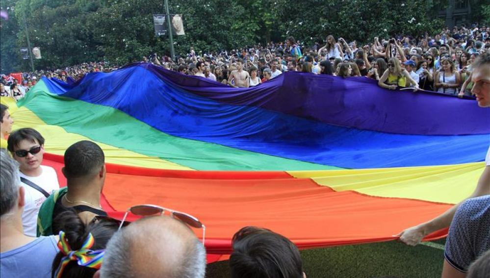 La manifestación del Orgullo de Madrid