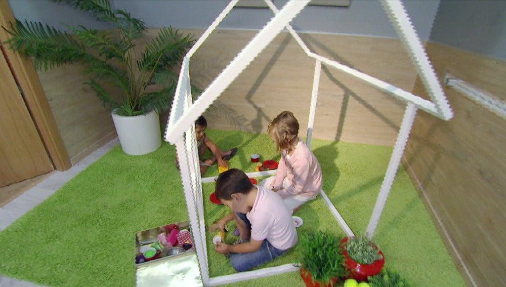 Construimos una casita para niños