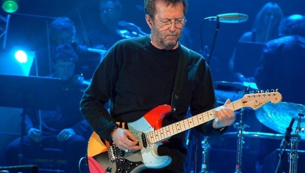 El guitarrista Eric Clapton
