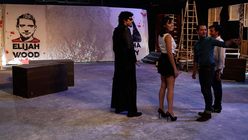 Elijah Wood y Sasha Grey en El Hormiguero 3.0