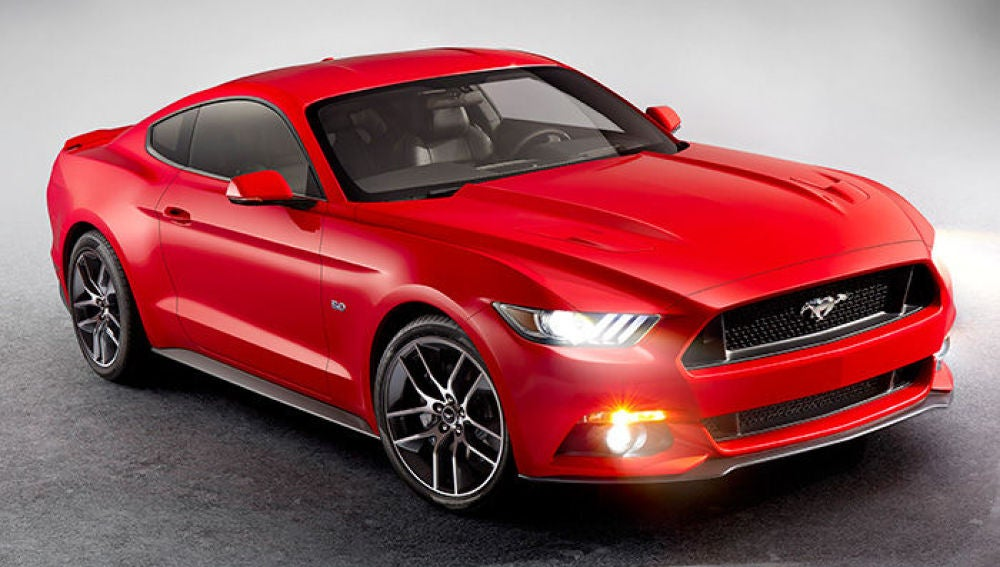 Modelo de Ford Mustang 2014