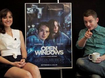 Entrevista con Elijah Wood y Sasha Grey