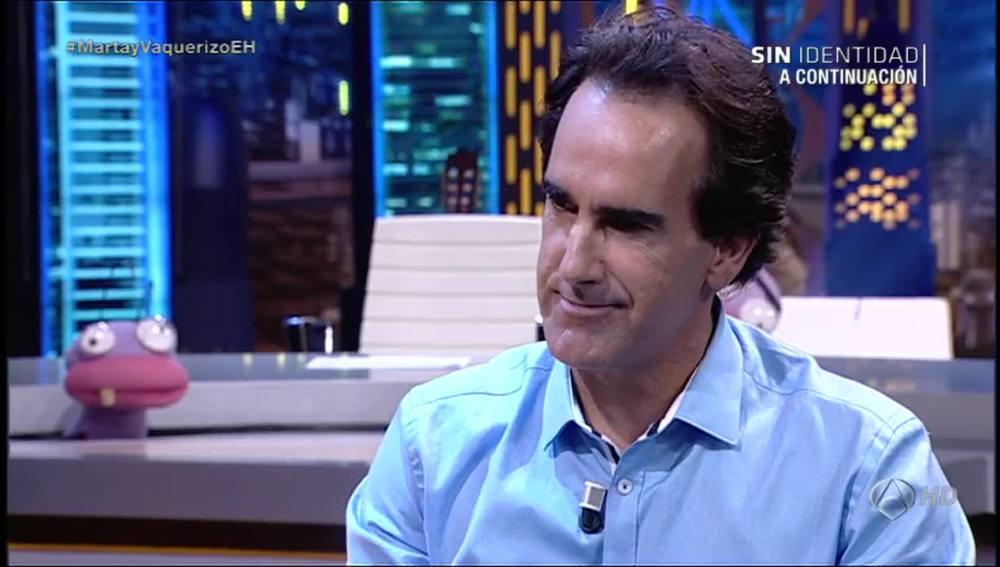 Javier Iriondo en El Hormiguero 3.0
