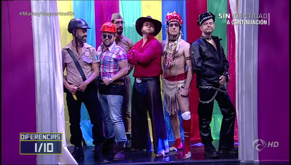 Las 10 diferencias de los Village People