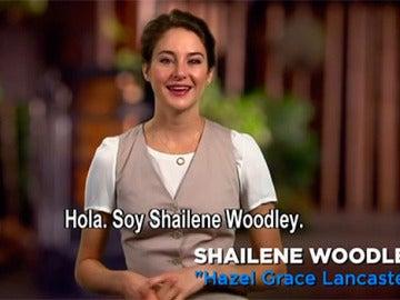 Shailene Woodley en 'Bajo la misma estrella'
