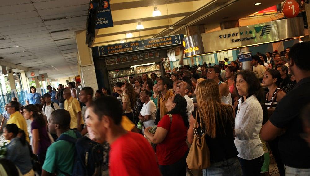 Estación de tren de Brasil