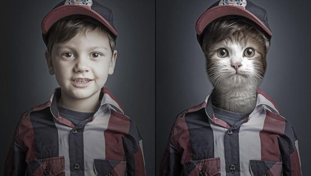 Catelia, el niño gato