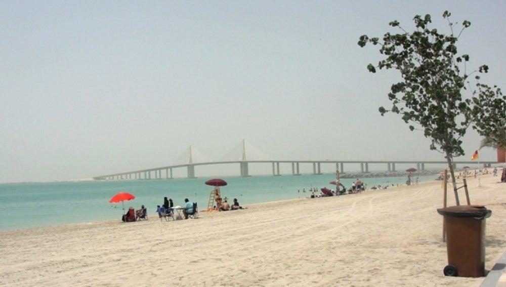 Instantánea de la playa de Al Bateen, en Abu Dhabi