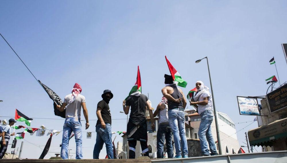 Tensión entre Palestina e Israel
