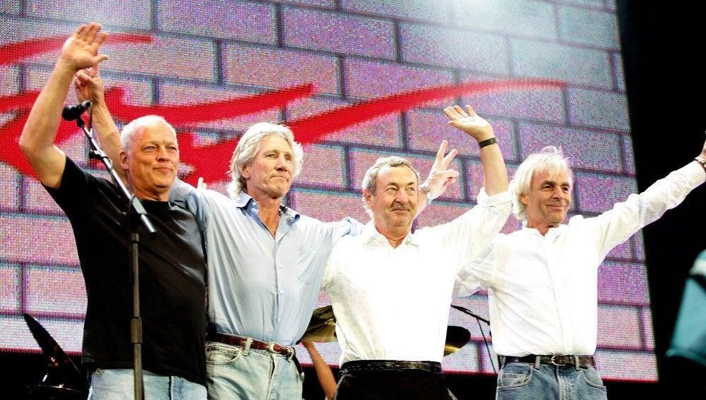 Pink Floyd en su reunión de 2008