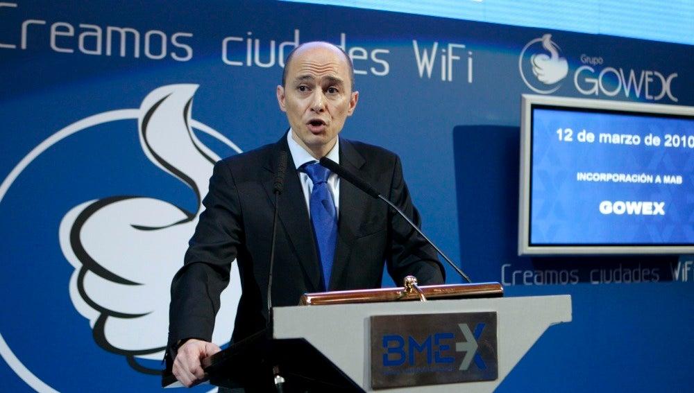 El expresidente y fundador de Gowex, Jenaro García
