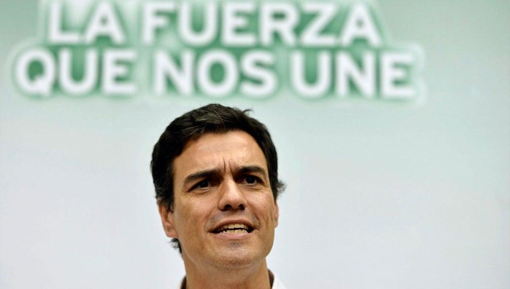 Pedro Sánchez en el cierre de campaña