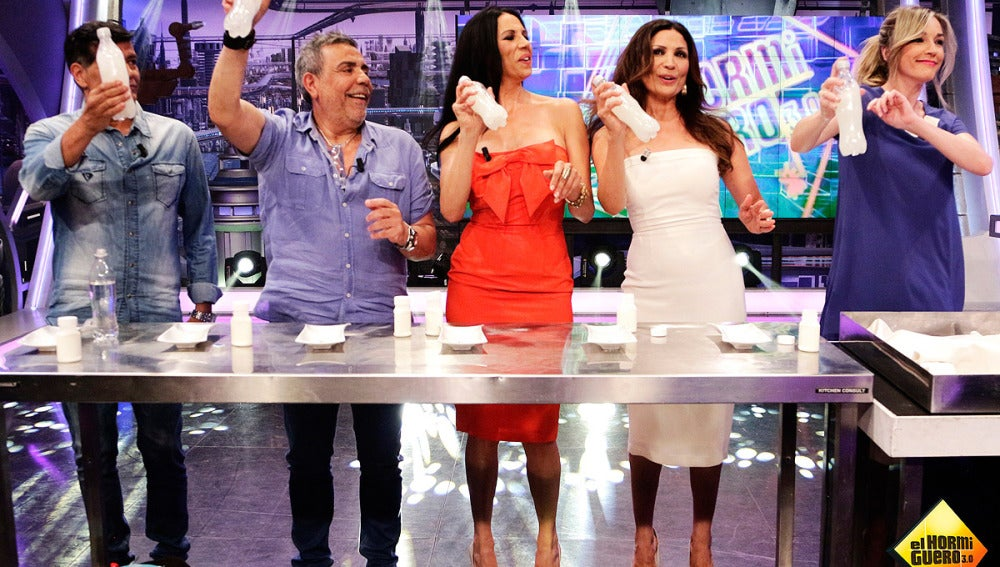 Anna Simon con Los Chunguitos y Azúcar Moreno en El Hormiguero 3.0