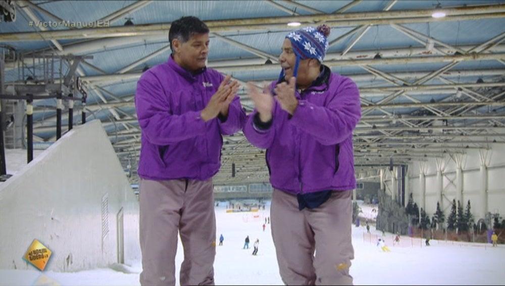 Los Chunguitos se van a esquiar