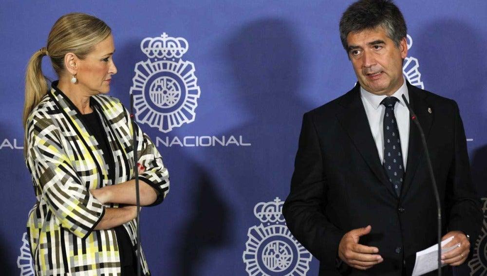 Cristina Cifuentes e Ignacio Cosidó