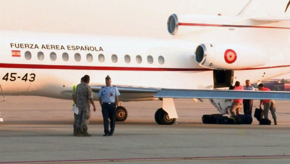 Avión de las Fuerzas aéreas