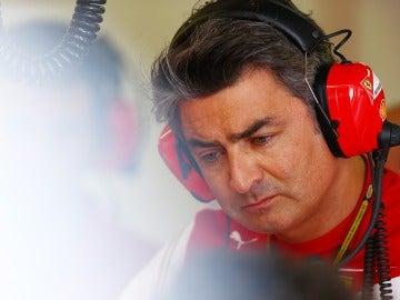 Marco Mattiacci, jefe de Ferrari