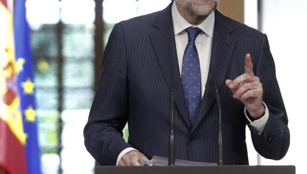 Rajoy comparece tras la última reunión del Consejo de Ministros