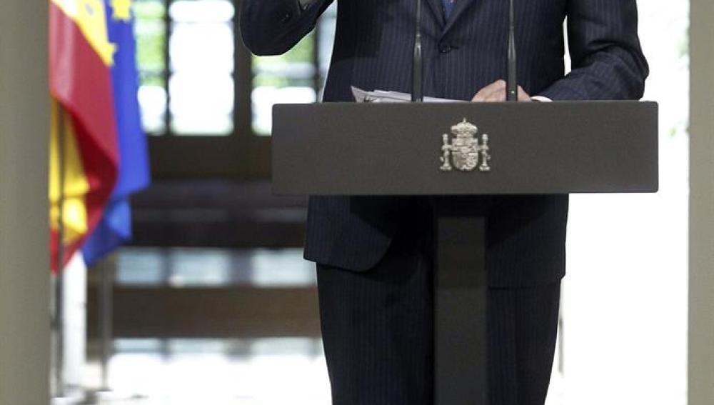 Mariano Rajoy comparece ante los medios