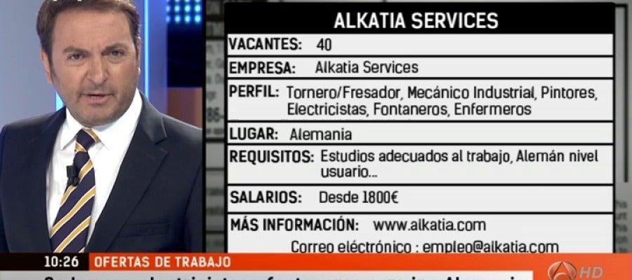 Antena 3 tv espejo p blico presenta 60 ofertas de empleo en puestos t cnicos - Antena 3 espejo publico ...