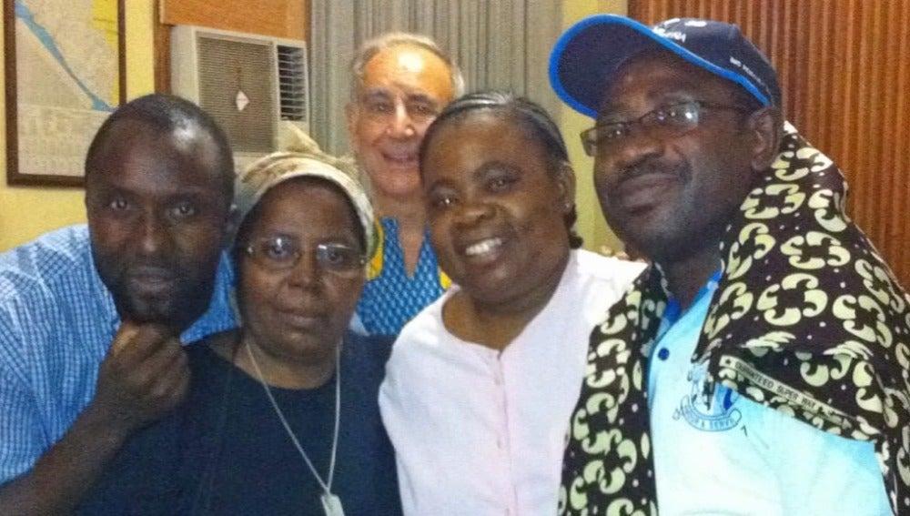 Congregación religiosa en Liberia