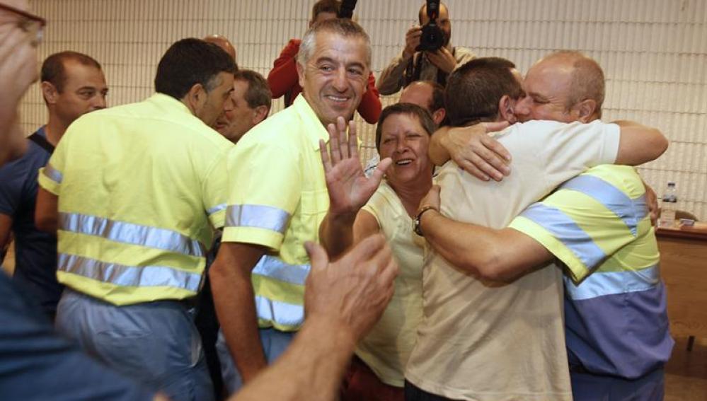 Fin de la huelga de basuras de Lugo